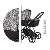 Детская универсальная коляска 2 в 1 Baby Merc La Rosa LR.LN04.B