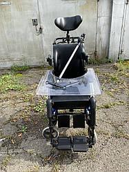 Немецкаяудобная регулируемая многофункциональная инвалидная коляска для дома и улицы б.у. ширина сидения 40 см