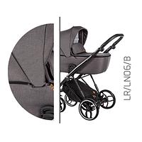 Детская универсальная коляска 2 в 1 Baby Merc La Rosa LR.LN06.B
