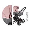 Детская универсальная коляска 2 в 1 Baby Merc La Rosa LR.LN1.B