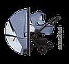 Детская универсальная коляска 2 в 1 Baby Merc Mosca MO.M200.B