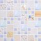 Настінна декоративна Панель ПВХ (Мозаїка лагуна піщана), фото 3