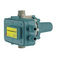 Электронное реле управления насосом (нерегулируемое) GRANDFAR GFAm1P (со стартовым включ. 1.5Бар) (