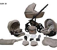Детская универсальная коляска 2 в 1 Mikrus Comodo 19