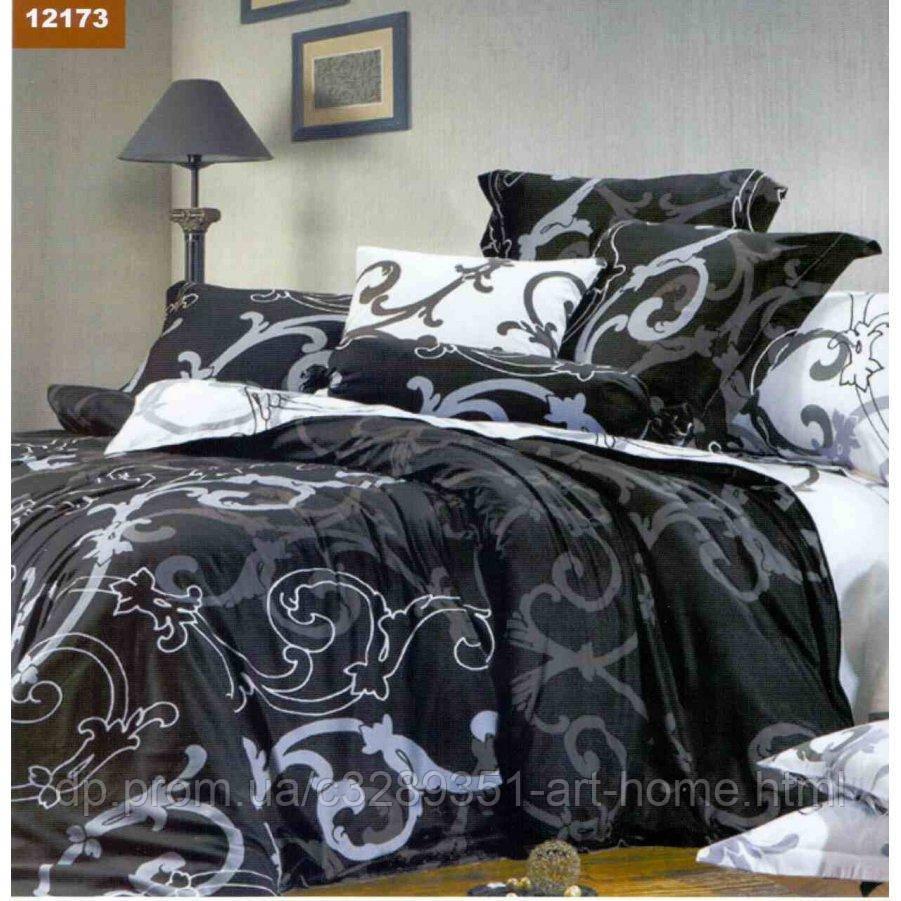 Двуспальное постельное белье Бязь Gold - День и ночь