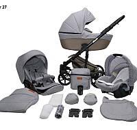 Детская универсальная коляска 2 в 1 Mikrus Comodo 27