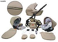 Детская универсальная коляска 2 в 1 Mikrus Comodo Gold 16