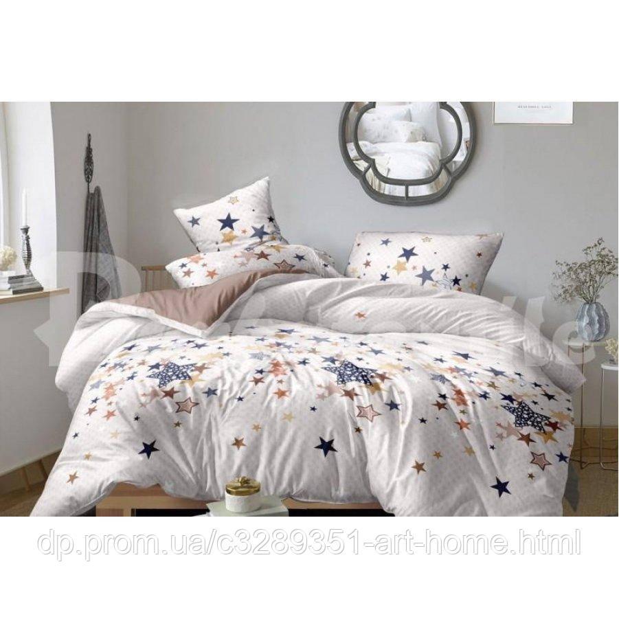 Двуспальное постельное белье Бязь Gold - Лунная дорожка