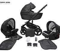 Детская универсальная коляска 2 в 1 Mikrus Genua 12