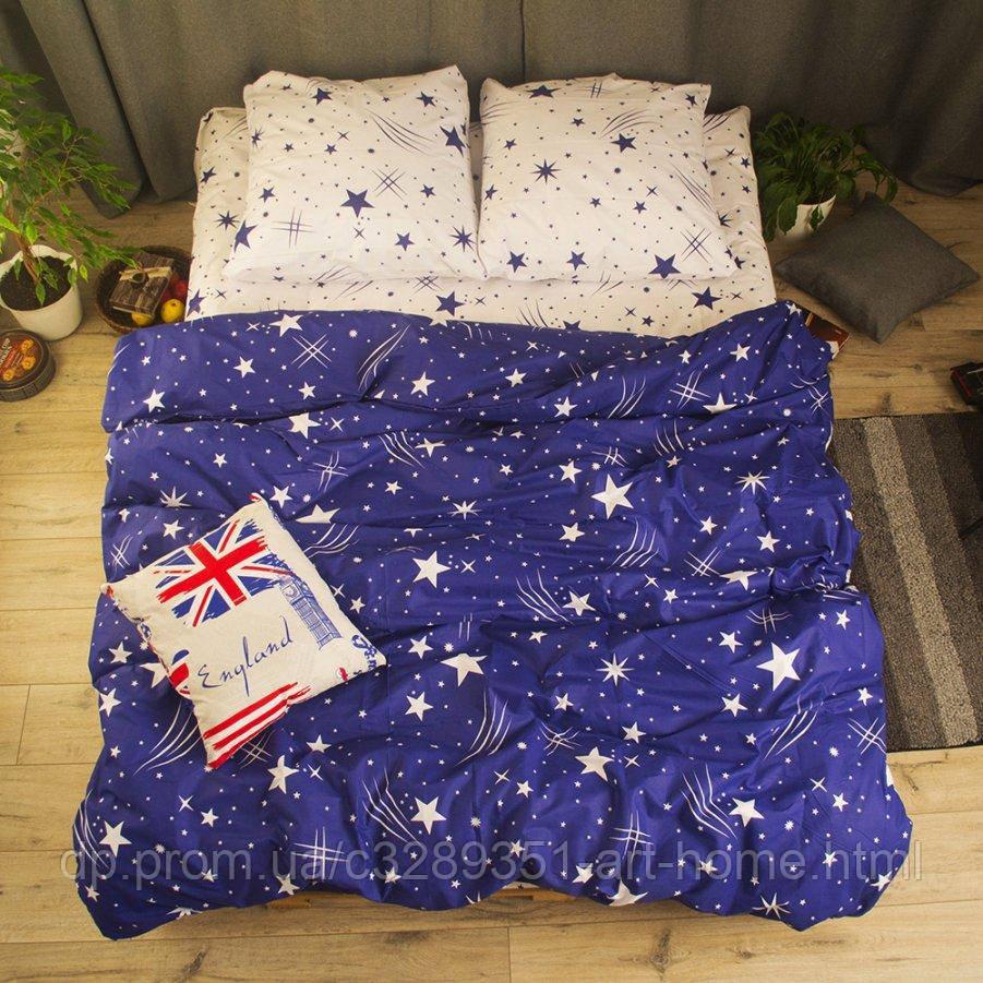 Евро постельное белье Бязь Gold - Комета