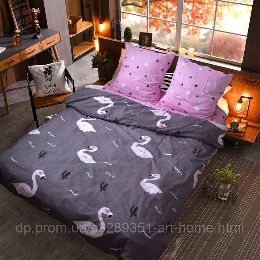 Полуторное постельное белье Бязь Gold - Птицам пеликанам да по южным странам (50х70)