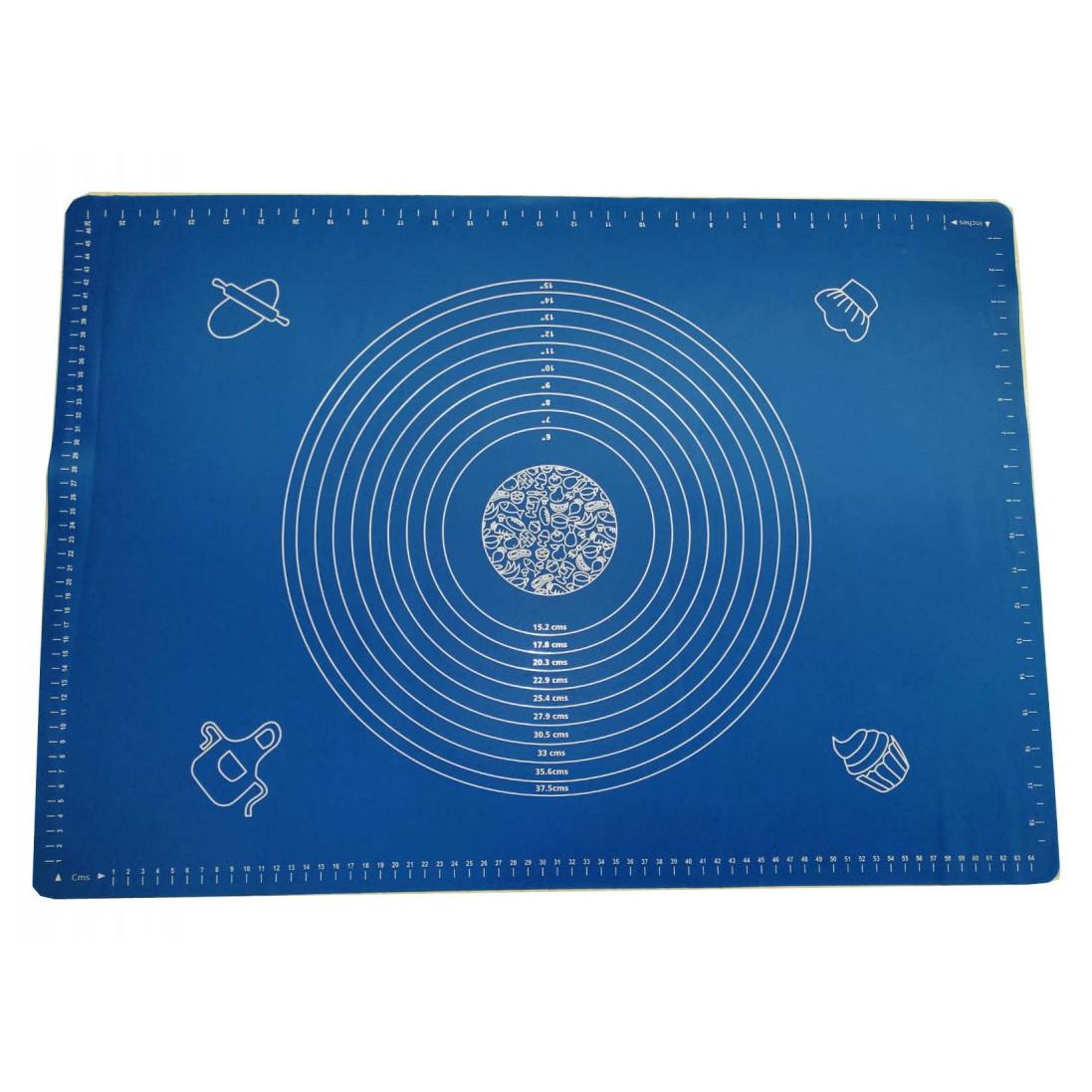 Силиконовый коврик 50 х 40 см Синий