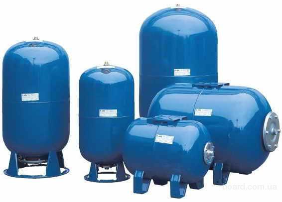 Гидроаккумуляторы ELBI, AQUAPRESS для питьевого водоснабжения