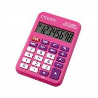Калькулятор Citizen LC-110NR-PK розовый 8-ми разрядный (1)