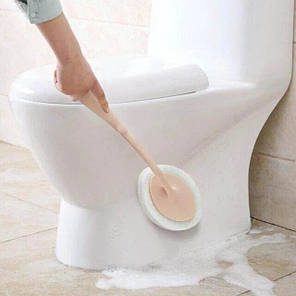 Универсальная щетка для уборки ванной Sponge Brush Белая, фото 2