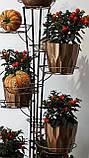 Кованая подставка для цветов Башня 3, фото 3