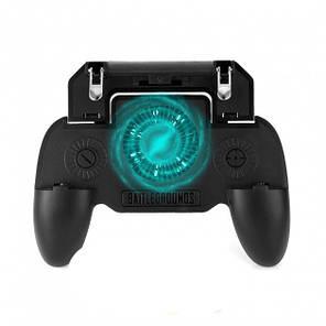 Игровой контроллер-держатель с охлаждением SR геймпад 1298, фото 2