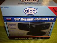 Тепловентилятор Alca с керамическим нагревательным элементом 12в/150вт.