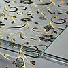 Клеенка скатерть силиконовая прозрачная Лазер 1.37x20м
