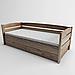 Ліжко дитяче дерев'яне Диванчик (масив ясеня), фото 4