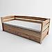 Ліжко дитяче дерев'яне Диванчик (масив ясеня), фото 3