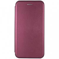 Чехол-книжка G-case для Meizu 15 plus бордовый