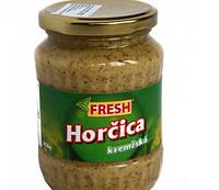 Горчица Fresh Horcica пикантная с орехами 350 гр