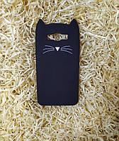 Силиконовый чехол Cat для Samsung J7