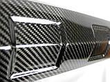 Карбоновая юбка переднего бампера губа W463 G55 G65 G63 G500 Mercedes G Wagon с ходовыми огнями LED Brabus, фото 5