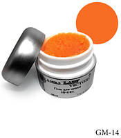 Оранжевый гель для лепки Lady Victory LDV GM-14 /0-2