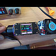 Автомобильное зарядное 2хUSB (12-24В, 5.4А) + Вольтметр / Быстрая зарядка QC 3.0 + подсветка - BLACK, фото 7
