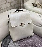 Женский молодежный рюкзак стильный модный сумка-рюкзак светлый кожзам, фото 1