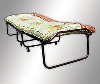Раскладная кровать с ватным матрацам и колесами