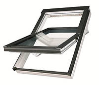 Мансардное окно Fakro влагостойкое белого цвета  55*78, фото 1
