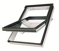 Мансардное окно Fakro влагостойкое белого цвета  55*98, фото 1