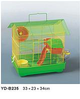 Хомячий домик Клетка+АКСЕССУАРЫ.33*23*34см