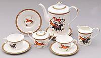 Чайный сервиз Fast Horse 15 предметов (BD-529-H14_psg)