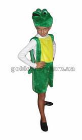 Карнавальный костюм Крокодил Гена (возраст 3-5 лет)