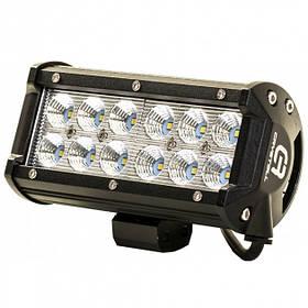 Фара автомобильная 12 LED 5D-36W-SPOT (Black) | Led фара на крышу