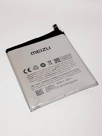 Акумулятор Meizu M6s / BA712 (3000 mAh) оригінал б.у., фото 2