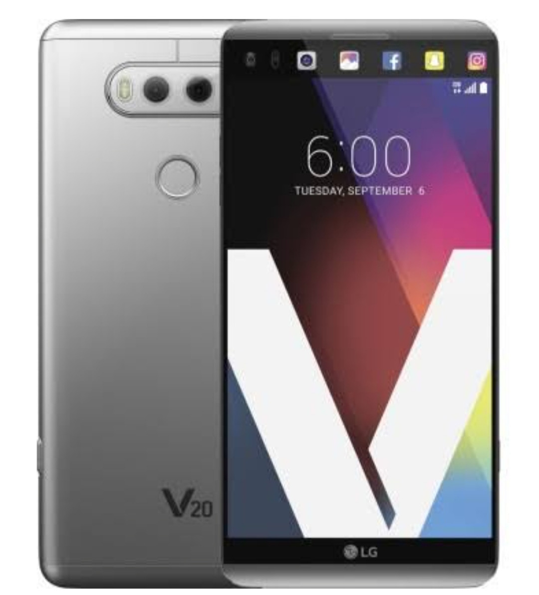 Смартфон LG F800 V20 64GB (Titan)