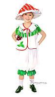 Детский карнавальный костюм Гриба Мухомора Код 9407