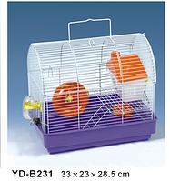 Клетка Мини для грызунов+АКСЕССУАРЫ.33*23*28,5 см.