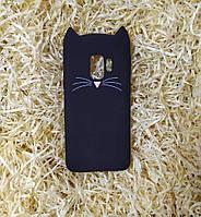 Силиконовый чехол Cat для Samsung S9