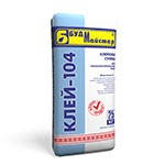 Клеевая смесь КЛЕЙ-104  для пенополистирольных плит