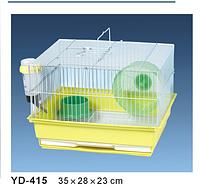 Клетка для хомячков и грызунов+АКСЕССУАРЫ. 35*28*23 см.