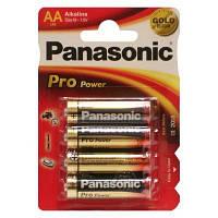 Батарейки АА Panasonic Pro Power (LR6XEG/4BP)