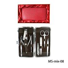 Маникюрно-педикюрный набор в подарочной упаковке Lady Victory LDV MS-mix-08