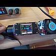 Автомобильное зарядное 2хUSB (12-24В, 5.4А) + Вольтметр / Быстрая зарядка QC 3.0 + подсветка - GOLD, фото 7
