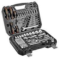Zestaw narzędzi M4K Garage 95 szt. + latarka NEO TOOLS 08-699+L, фото 1